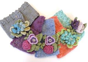 Floral Cozy Collar Scarves