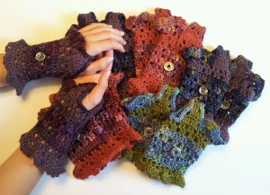Eclectic Essence Fingerless Gloves