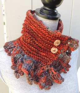 Eclectic Waves Scarf Sunset