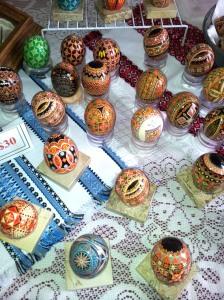 Ukrainian Hand Painted Eggs