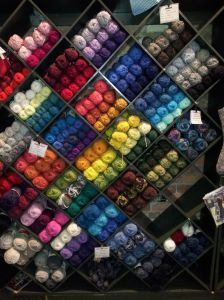 Another wall of yarn