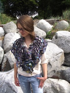 Calming Waters Shawl/Shrug