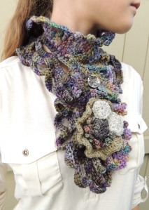 Calming Waters Scarf - Short Style