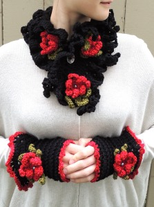 Eclectic Essence Floral Scarf