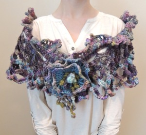 Calming Waters Shrug Shawl