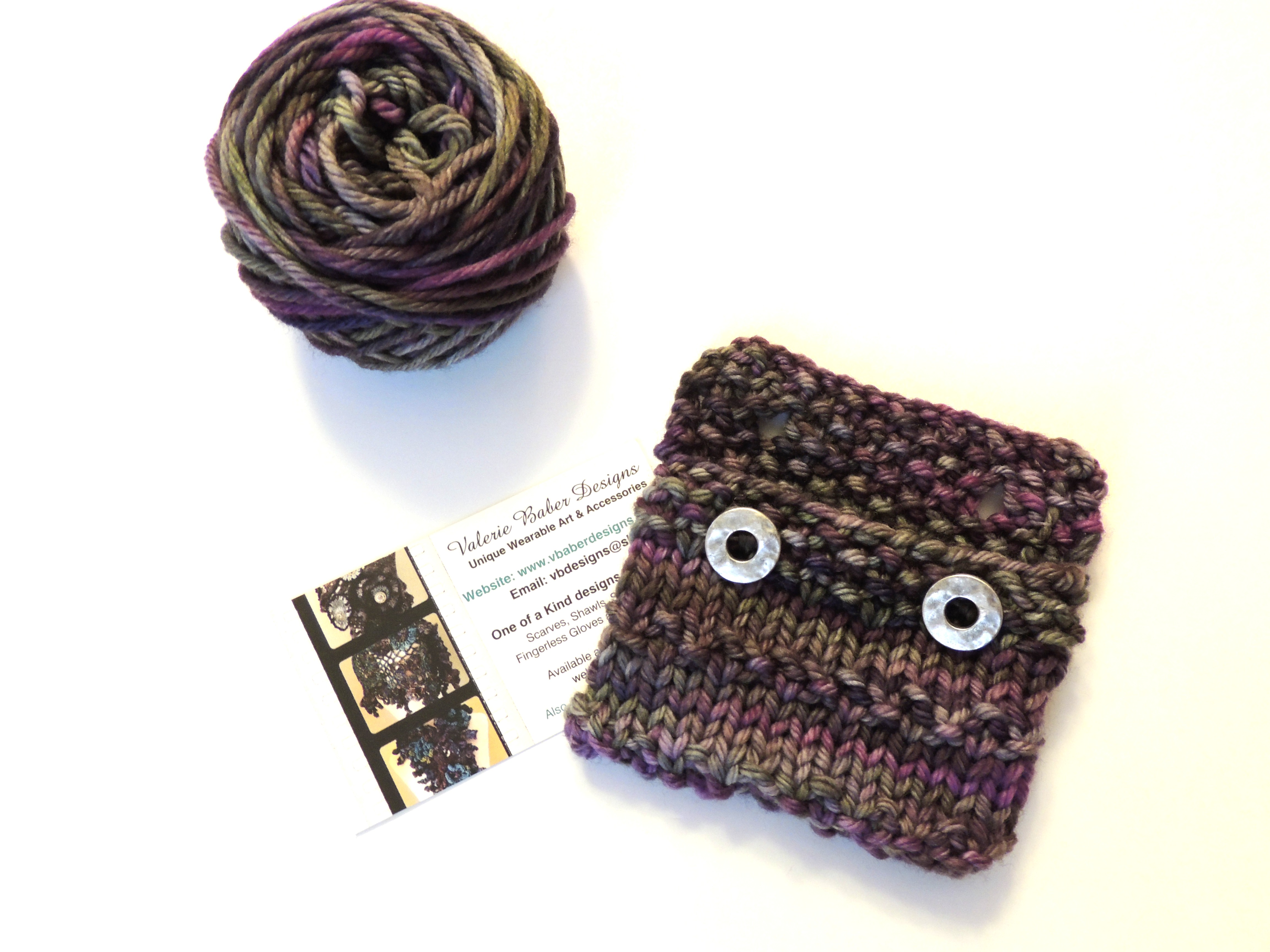 Knitted Business Card and Gift Card Holder – Free Knitting Pattern ...
