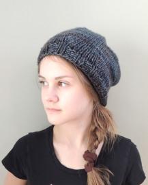 Rach Slouch hat Grey/Blue