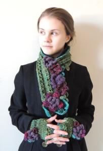 Floral Elegance scarf
