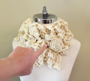 Tying Rose Onie Scarf 6
