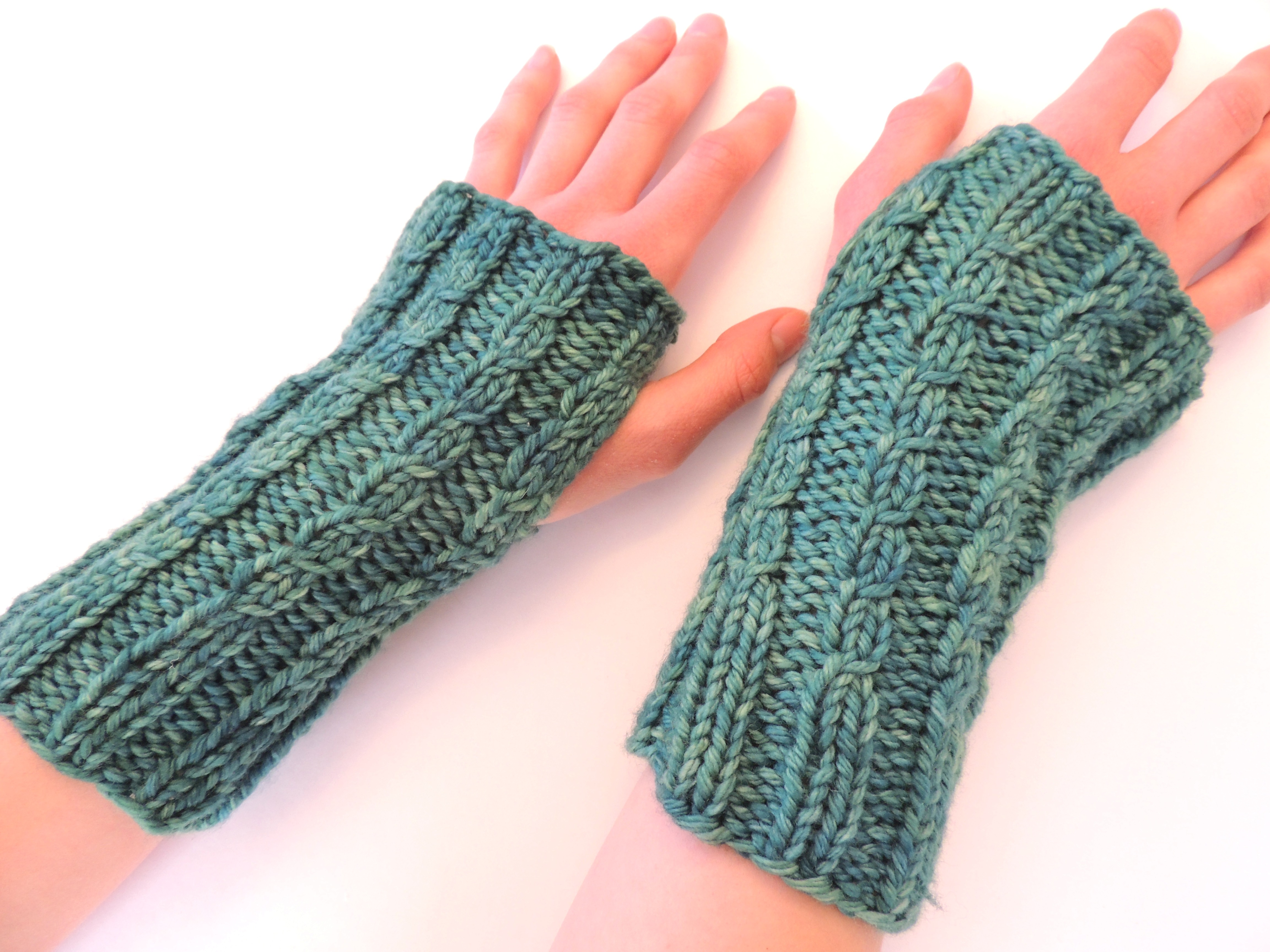 Knitting Pattern For Cable Gloves : New Knitting Pattern?Calming Cables Fingerless Gloves Valerie Baber Designs...
