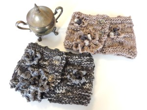Floral Stone Tracery Cowl/Collar scarf