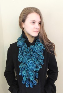 Rose Onie long scarf