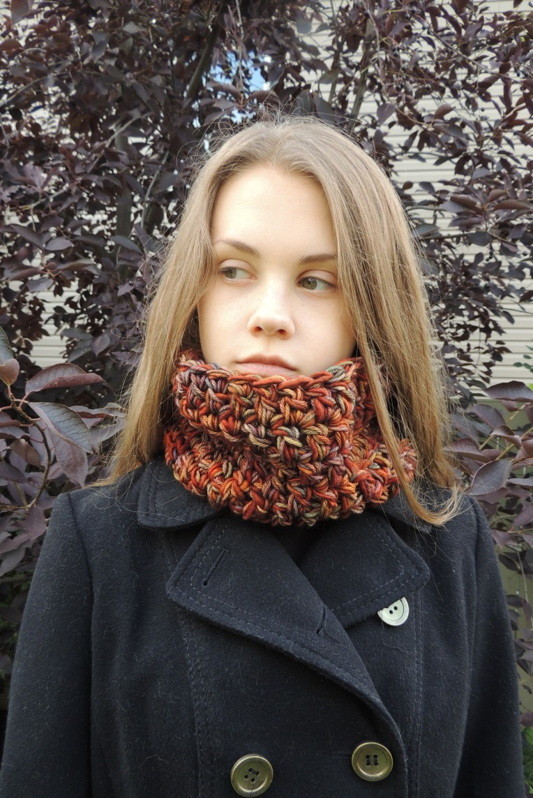 turtleneck cowl orange2