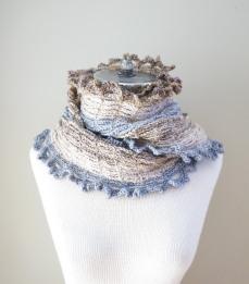 archi shawl scarf ivory grey beige6