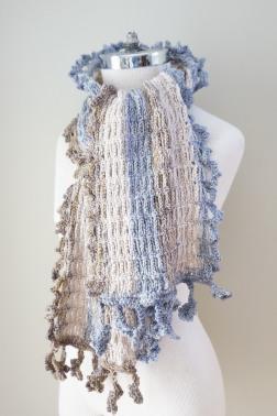 archi shawl scarf ivory grey beige9
