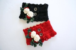 christmas rose red black1
