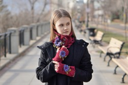 floral aster rose daisy scarf collection
