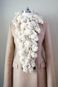 rose onie xlong bulky scarf ivory4