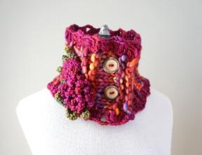 Peony rose scarf sunrise1
