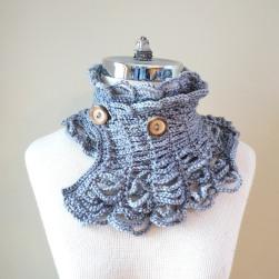 contemporary victorian scarf grey2
