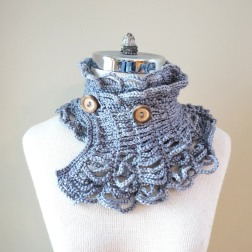 contemporary victorian scarf grey2
