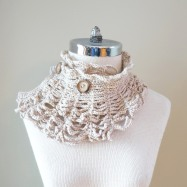 contemporary victorian scarf ivory1