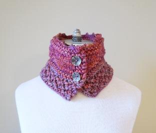 floral vines knit pink2