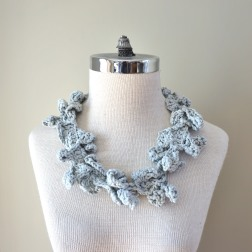 accent scarf cotton grey1