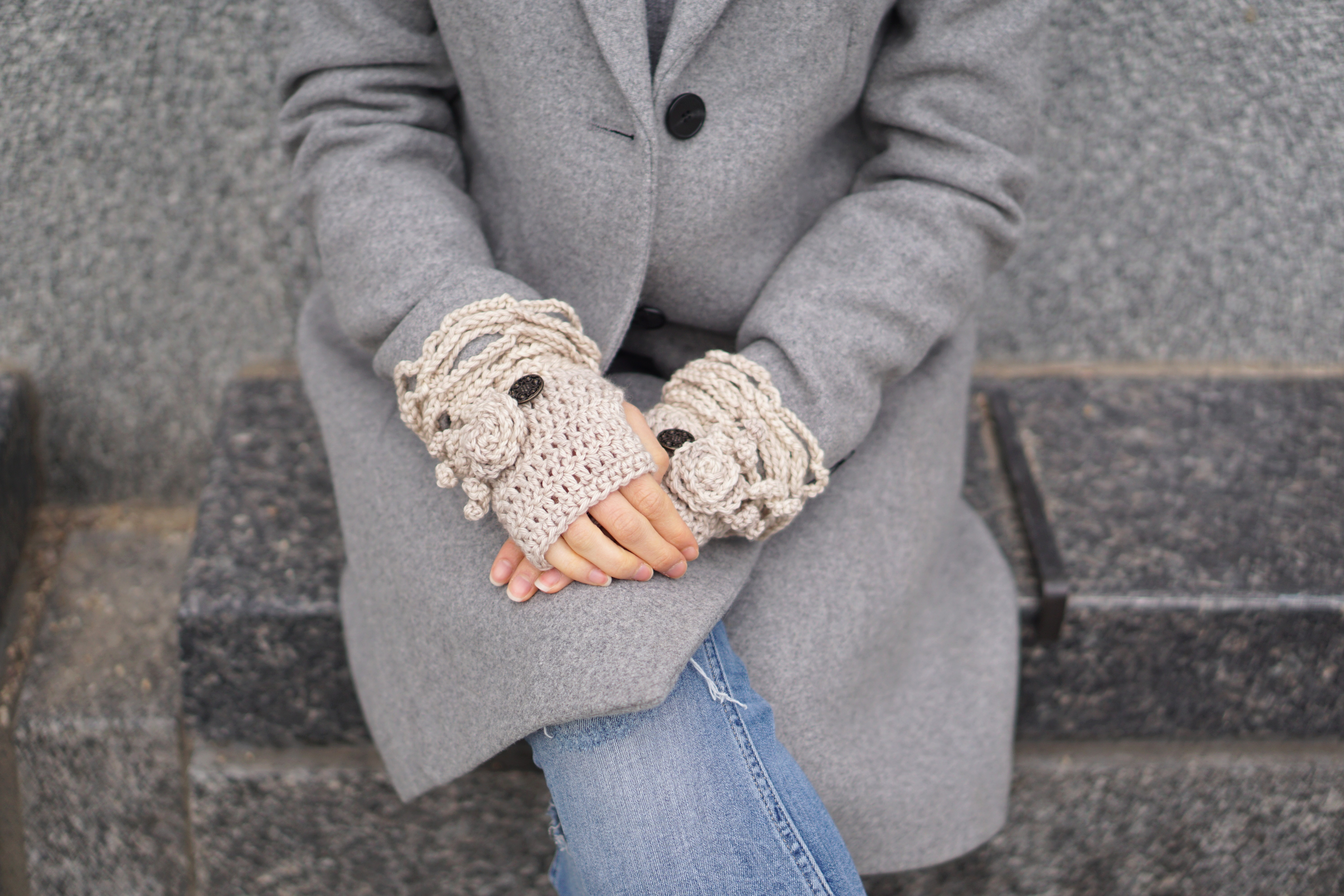 sophia rose eclectic hand warmers ivory