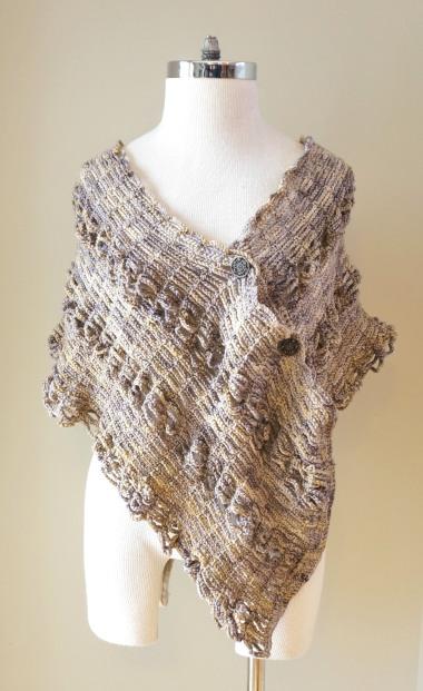 sophia poncho shawl beige stone6