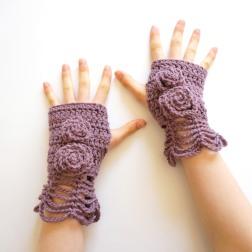 elegant rose hand warmers mauve2