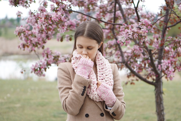 ashley infinity scarf pink ivory6