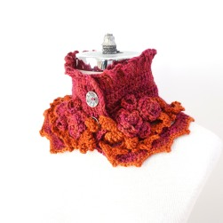 elegant-rose-scarf-short-pink-orange2