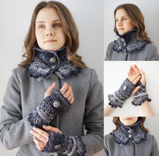gradient scarf combo pics