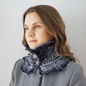 gradient scarf pattern pics 1