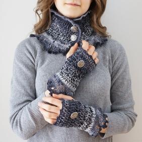 gradient scarf pattern pics3