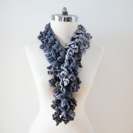 abstract scarf long grays