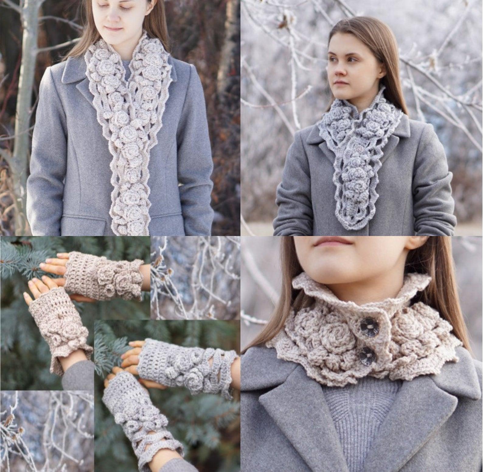 rose pattern combo